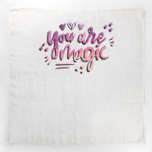 Magic roza tetrica s inspirativnim natpisom