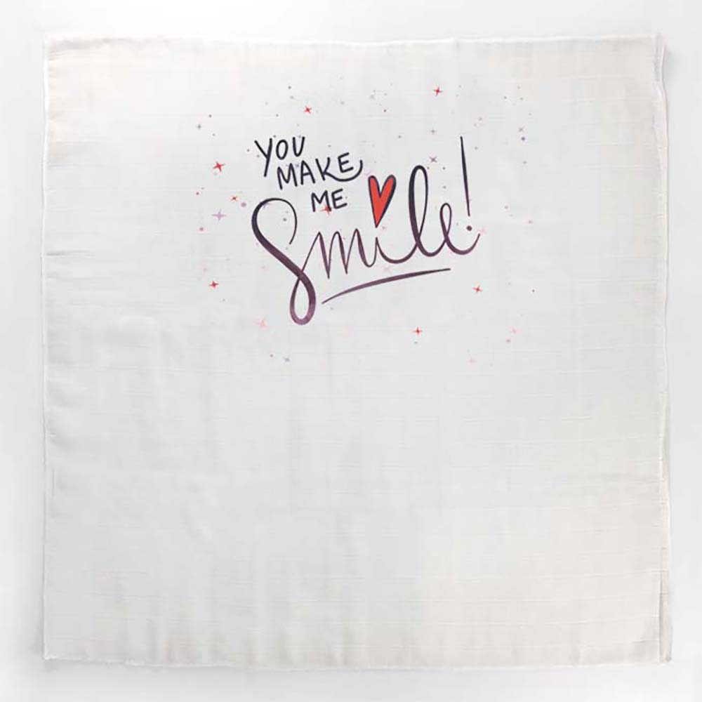 Smile unisex tetrica s inspirativnim natpisom