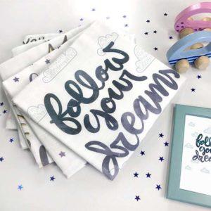 Follow Your dreams unisex tetrica za bebe