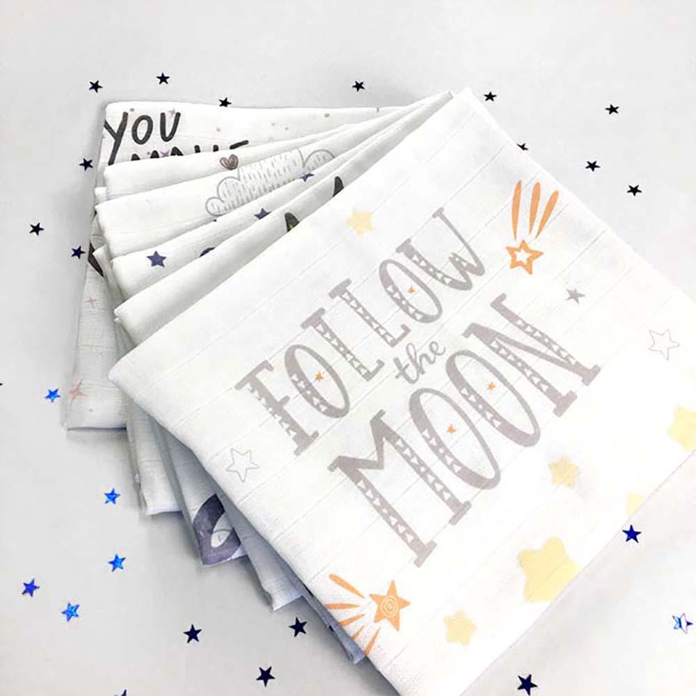 Follow the moon unisex tetrica za bebe