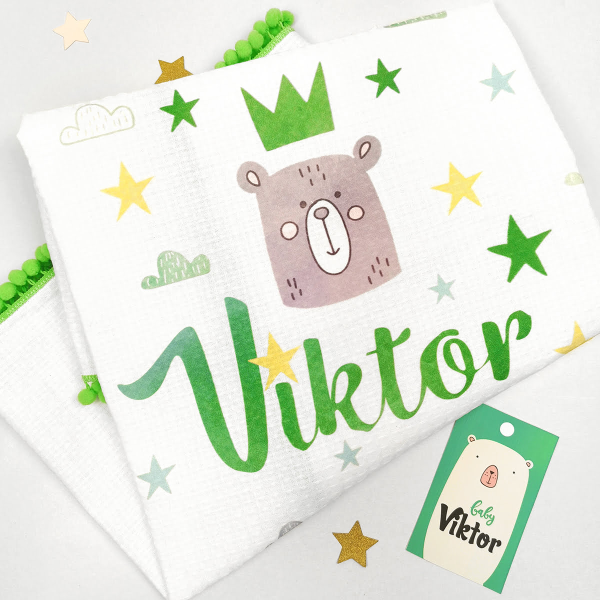 personalizirana tetrica Viktor zelena