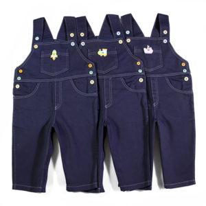 Traper treger hlače sa šarenim gumbima