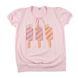 Tri sladača ljetna majica za djevojčice