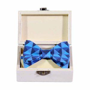 Tropic blue bowtie dječja leptir mašna