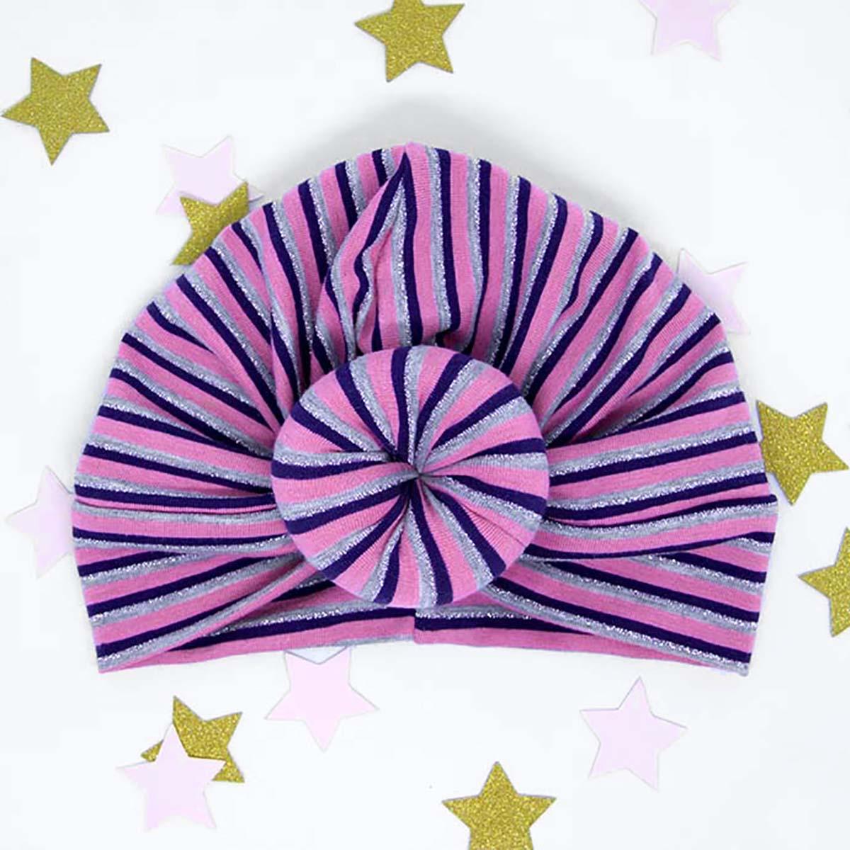 twist turban prugasti za bebe i djevojčice