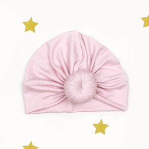 baby rozi twist turban za proljeće