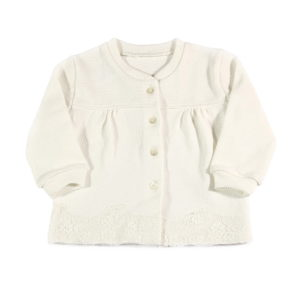 vanilla charm bijela vestica za bebe