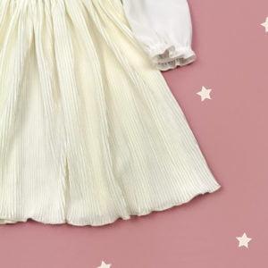 plisirana haljina vanilla sky