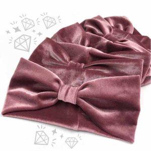 roze široke puder trakice