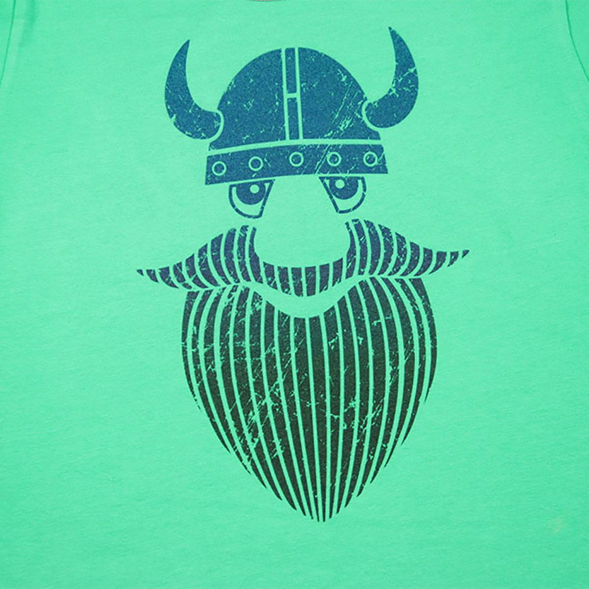 print vikinga na dječjoj majici