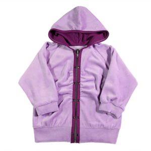 violet dvodijelna trenirka za bebe