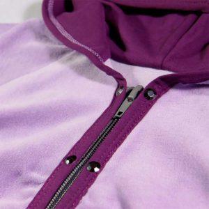 violet gornji dio trenirke s kapuljačom