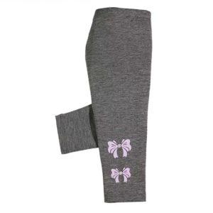 violet tajice s mašnicom