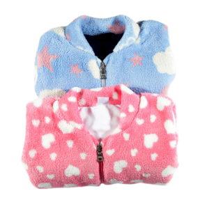 plava i roza tople vreće za spavanje