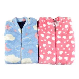 tople vreće za spavanje plava i roza
