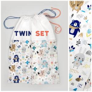 vreće za posteljine za blizance