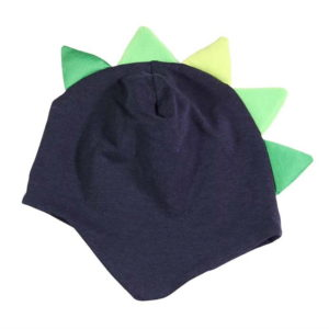 Plava kapa s dinosaur bodljama za bebe i dječake