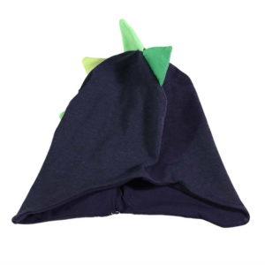 Plava pamučna zmaj kapa za dječake i bebe