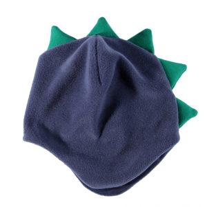 plava flis zmaj kapica za bebe i dječake